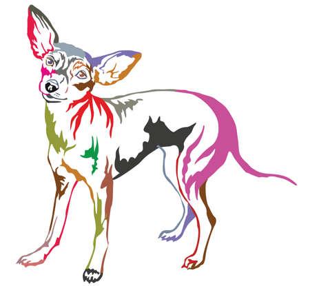 프로필에 서의 화려한 장식 초상화 프라하 Ratter입니다.