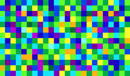 rapport: abstract pixel pattern Illustration