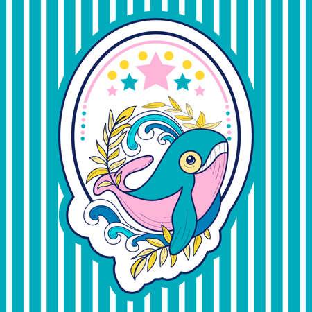 Pink kit.vektornaya illustration