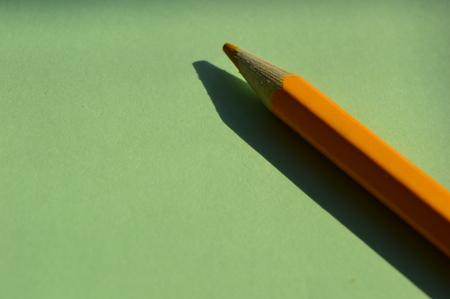 color pencil: a  color pencil