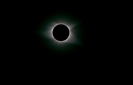 Solar Eclipse during totality as seen from Colombia, SC