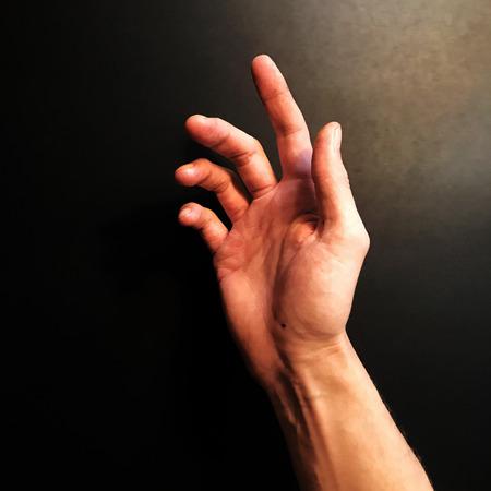 Hand pose Stok Fotoğraf
