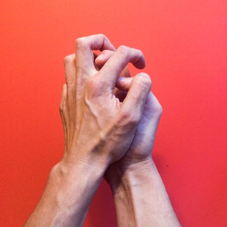 Hands posing Stock Photo