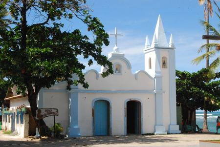 forte: Church at Praia do Forte Beach