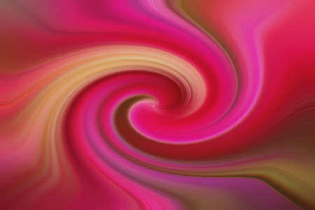 Pink spiral, abstraction, pink background Фото со стока