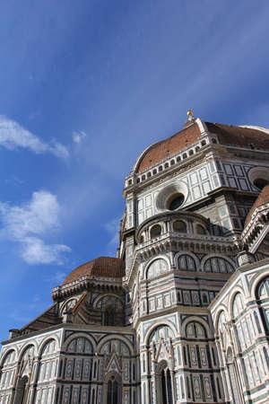 santa maria del fiore: Beautiful renaissance cathedral Santa Maria del Fiore in Florence, Italy