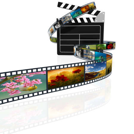 rollo pelicula: película en 3D