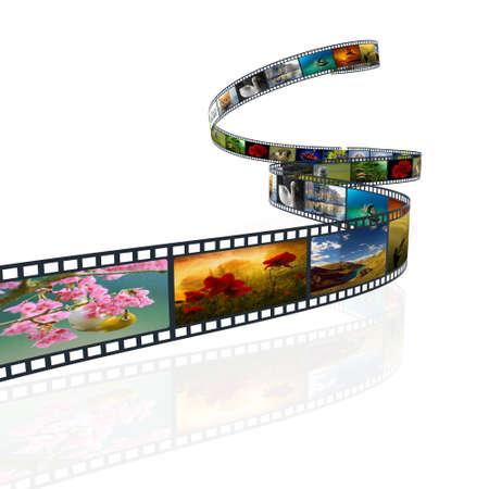 film 3d Stock Photo - 13912652