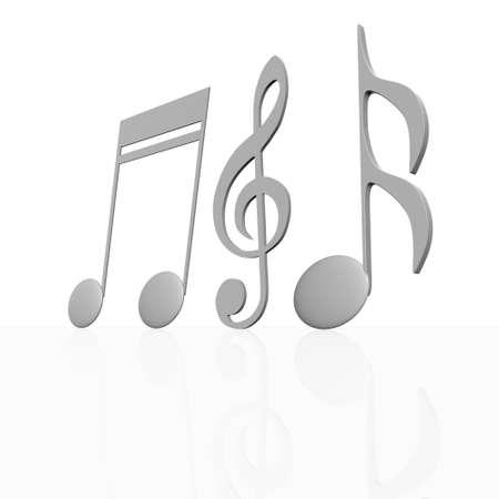 music note Stock Photo - 13912391