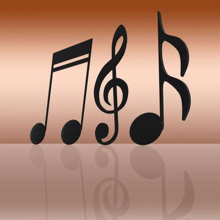 pentagrama musical: música