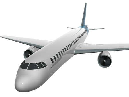 3d airplane
