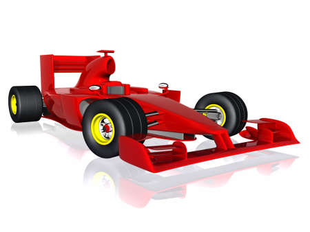 formula car: 3d car