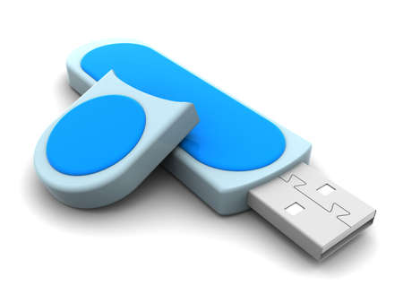 usb disk: flash drive Stock Photo