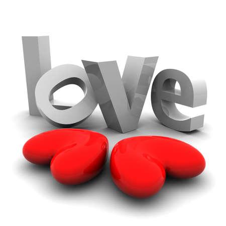cherish: 3d hearts