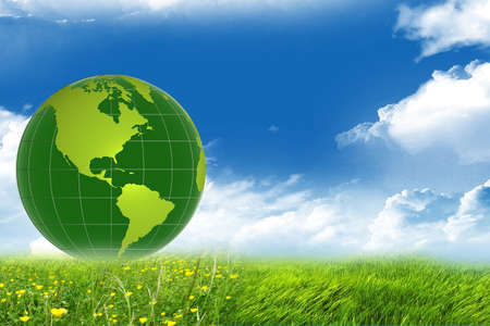earth globe Stock Photo - 13661447