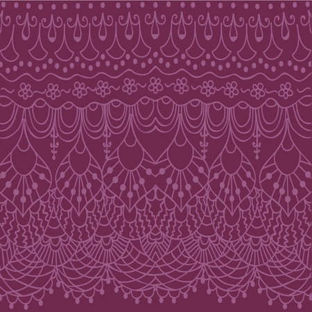 the womanly: Abstract doodle pink lace background