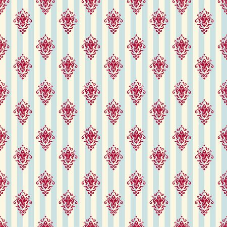 royal background: vintage royal stripped wallpaper background Illustration