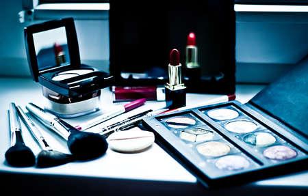 make up artist: Make up artist Stock Photo