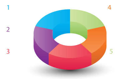 Empty infographic vector template. Infographic vector design