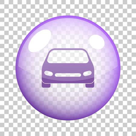 Car icon vector design.
