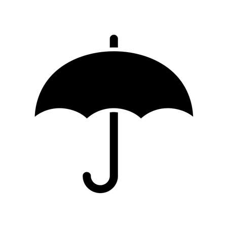 Umbrella icon vector design isolated on white background