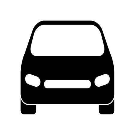 Car icon vector design isolated on white background