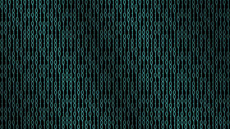 Binary code abstraction vector illustration
