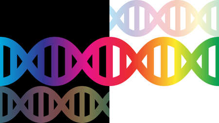 DNA background vector design. Scientific background