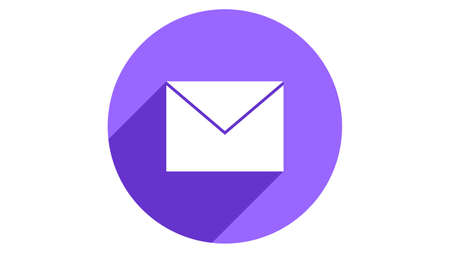 Envelope icon vector. Mail icon illustration