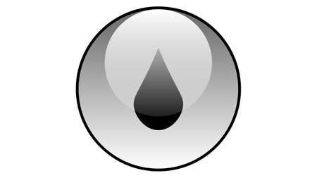 Water droplet icon vector design. Fall icons vector. Rain drop vector