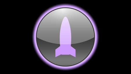 Rocket icon vector design. Science icons