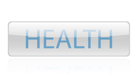 Health word vector design. Health word isolated Stock fotó - 134257831