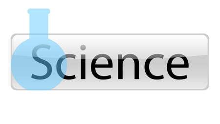 Science word vector design. Science word isolated