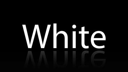 White word vector design. White word isolated Stock fotó - 134258255