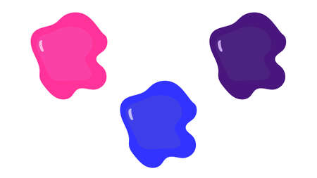 Slime vector. Vector image of a popular antistress toy slime.