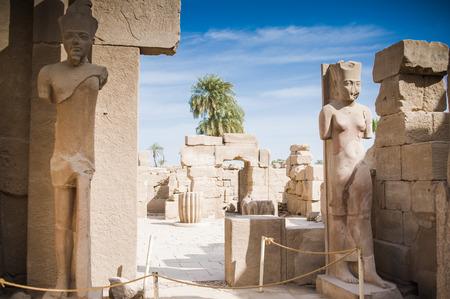 obelisk stone: Luxor, Egypt Stock Photo