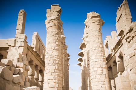 thebes: Luxor, Egypt Stock Photo