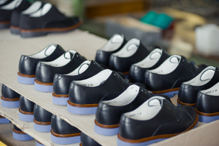 shoes factory Imagens