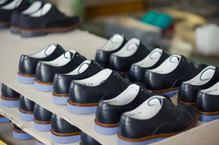 shoes factory 版權商用圖片