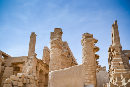 Karnak Temple Complex. Luxor. Egypt. Stock Photo