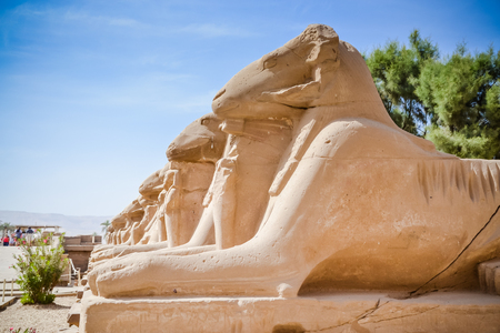 Karnak Temple Complex. Luxor. Egypt. Stock Photo