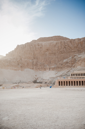 Mortuary Temple of Hatshepsut. Egypt. Luxor. 写真素材