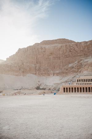 Mortuary Temple of Hatshepsut. Egypt. Luxor. Stock Photo