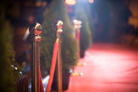 Red carpet entrance Foto de archivo