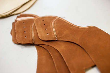 Handmade high quality craft leather shoes