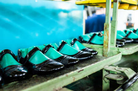 Factory for the production of high quality leather shoes