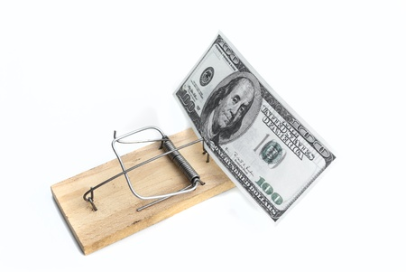 mousetrap: Dollars in mousetrap
