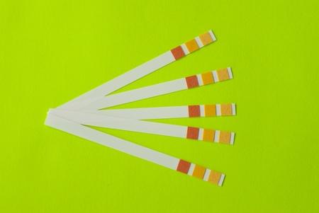 acidity: Litmus strips for measurement of acidity