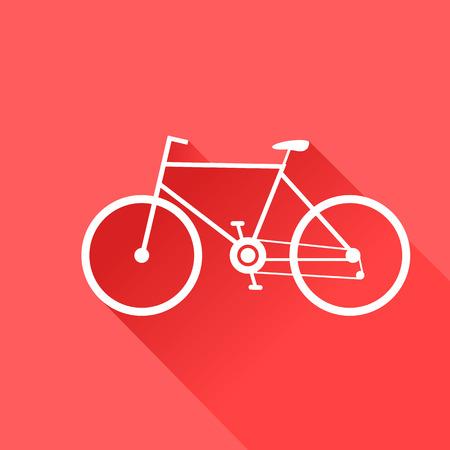 bike vector: Moto deportiva. Ilustraci�n del vector. Vectores