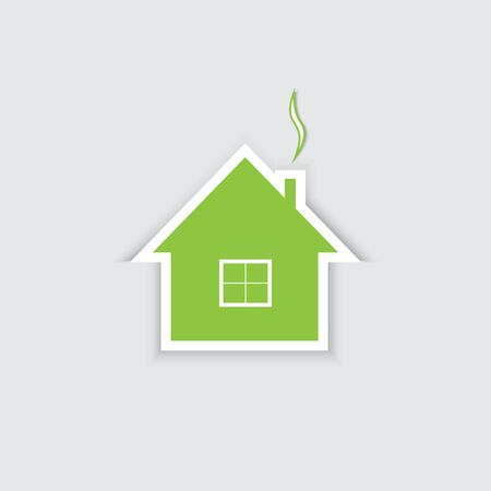 house for sale: House for sale. Vector illustration.